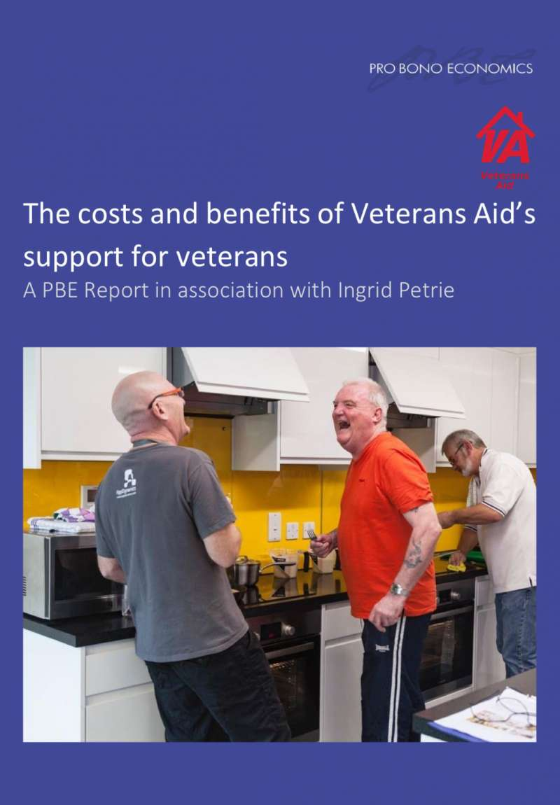 How Eyes Down helped Veterans Aid to demonstrate their impact to society