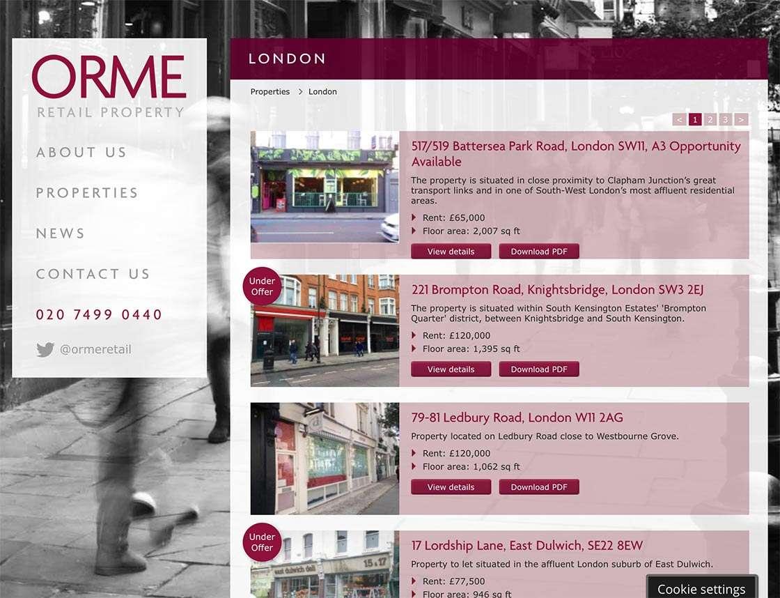 Orme Retail Property