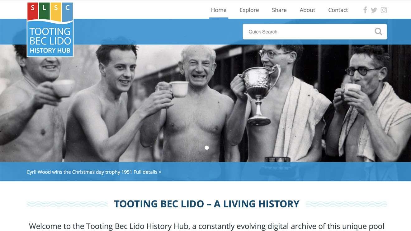 Tooting Bec Lido History Hub