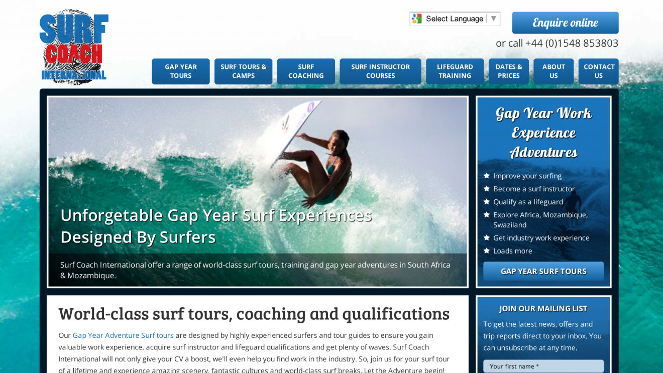 Surf Coach International