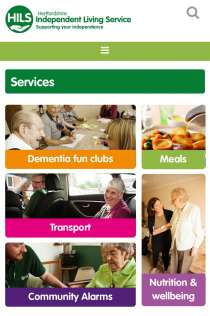 At Eyes Down we help charities to tell their stories and engage with their supporters  - mobile view