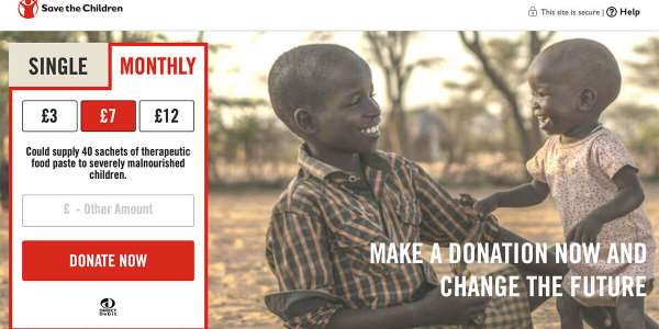 The best charity donation pages: who's getting it right?
