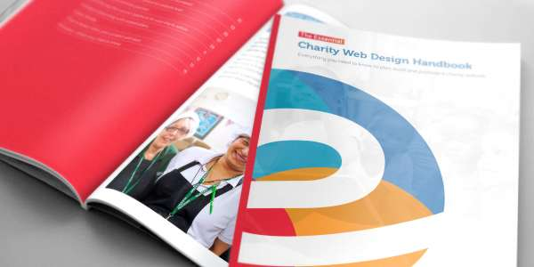 Charity web design e-book for the charity/non-profit sector