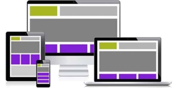 Serving big screens with upwardly responsive web design