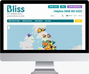 Bliss launch maps engine for World Prematurity Day